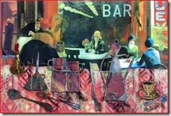 sola al bar